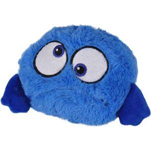 Blå hoppande boll